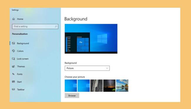 Langkah Mengganti Wallpaper Desktop di Windows
